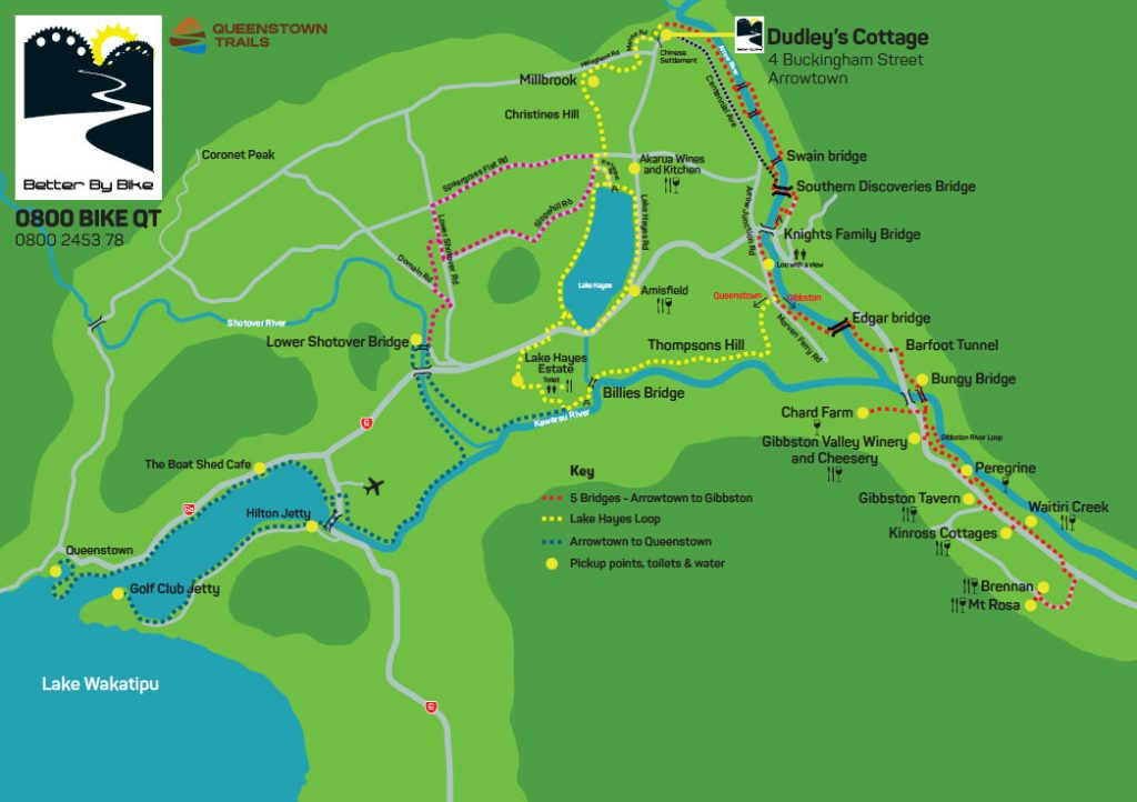 Better By Bike Trail Map