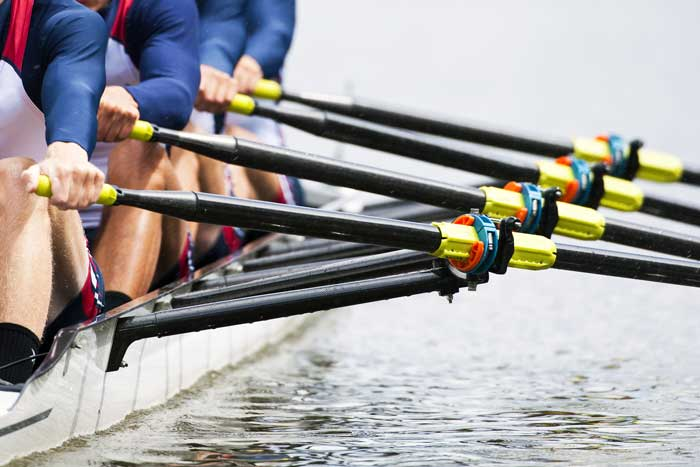 rowing team concept for perfomance ideas for startups