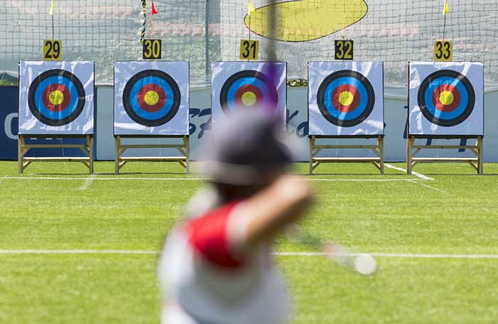 archery-target-goal-in-focus-concept-for-startups