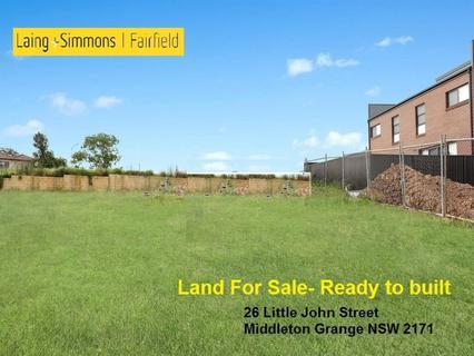 26 Little John Street, Middleton Grange NSW 2171-1