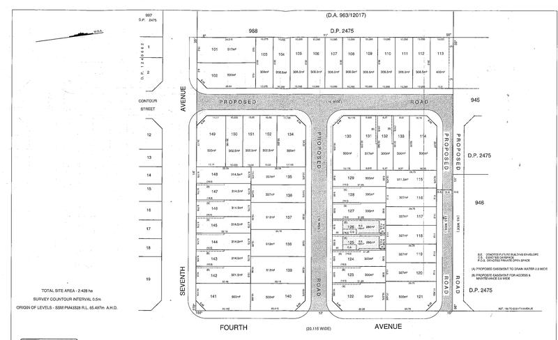 101 Lots in subdivision of 205 Seventh Avenue, Austral NSW 2179-1