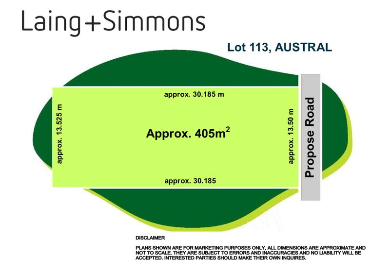 Lot 113 in Subdivision 205 Seventh Avenue, Austral NSW 2179-1
