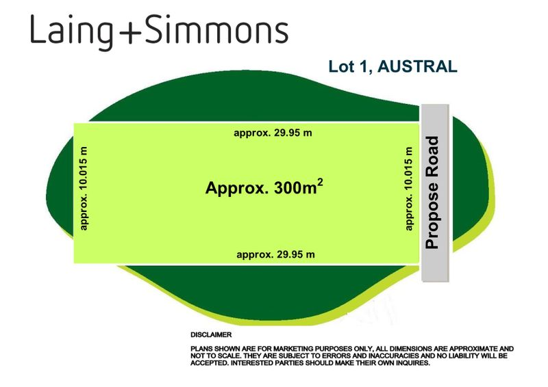 Lot 1 in Subdivision 215 Seventh Avenue, Austral NSW 2179-1