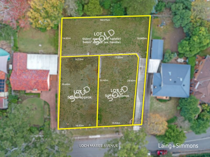 Lots 1 & 3/29-31 Loch Maree Avenue, Thornleigh NSW 2120-1