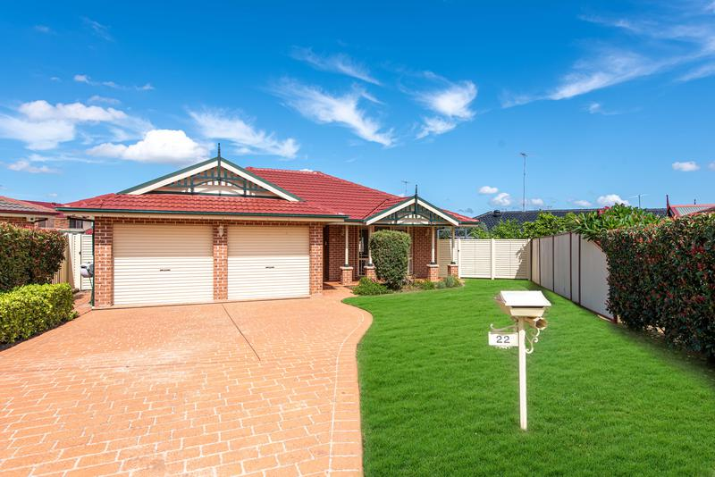 22 Toomey Crescent, Quakers Hill NSW 2763-1
