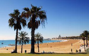 1. Het strand van Barcelona