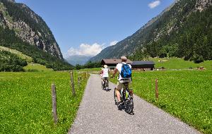 op de fiets in Salzburgerland