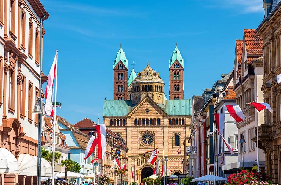 video over Rheinland Pfalz