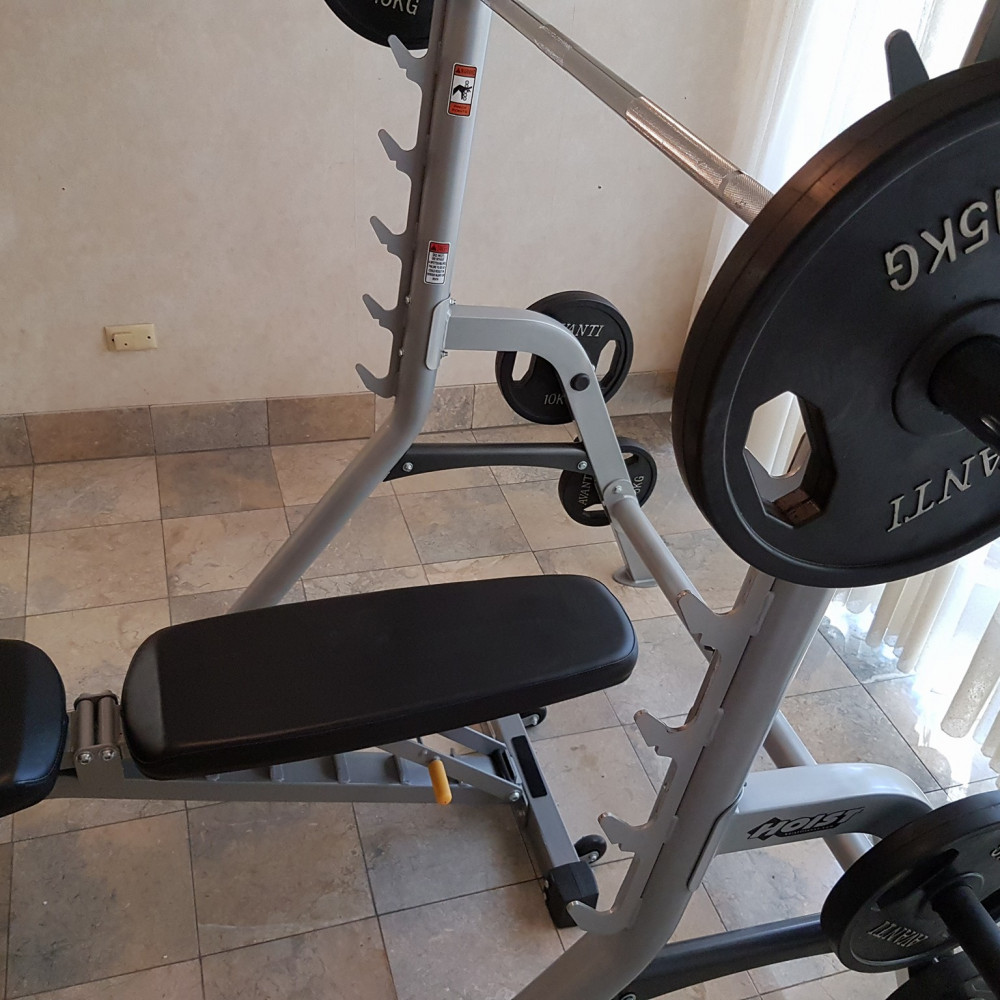 Weights Squat Rack And Bench Press For Rent In Paradise