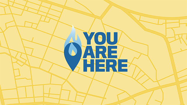 You Are Here | The Church At The Crossroads | Hebrews 12:1-3