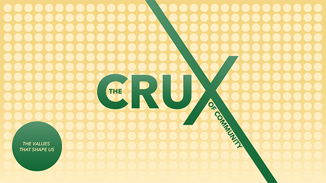 The Crux Of Community | The Values That Shape Us | John 20:19-23