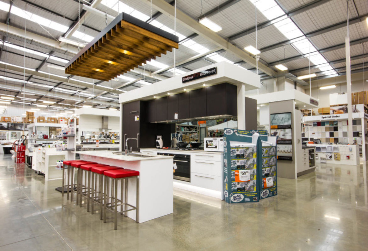mitre 10 mega kitchen