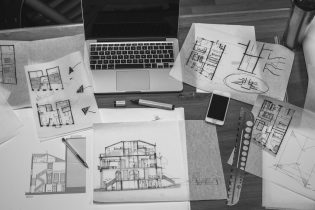 buying off the plan - architectural drawings