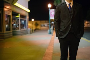 a buyer wearing a suit