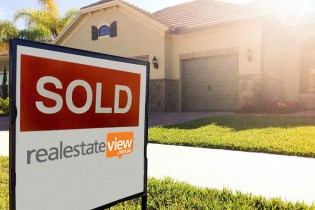 Preparation for buying a property - Sold signage