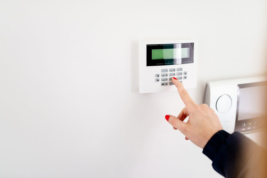 Home security during inspections