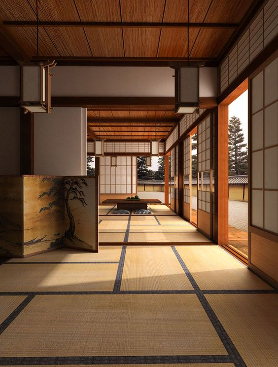 Japanese traditional home design can be considered contemporary