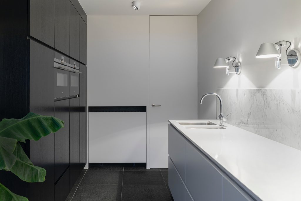Your pantry can include additional amenities to function as a secondary kitchen when entertaining