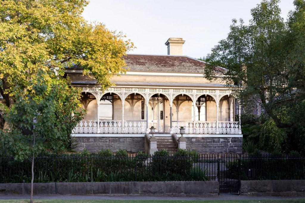 'Zetland' in Melbourne's Hawthorn was built around 1873 and has achieved heritage status. It became available on the market in 2019.