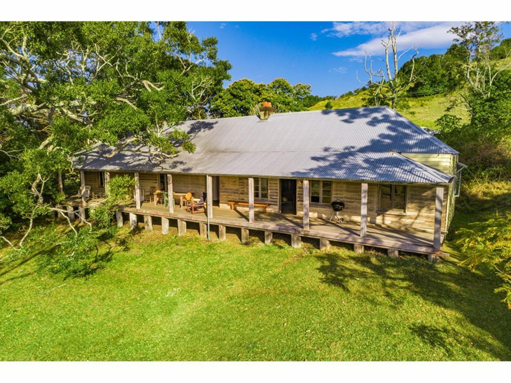 Some of Australia's oldest buildings still come up on the market, like the Monaltrie Homestead, which was built in 1862.