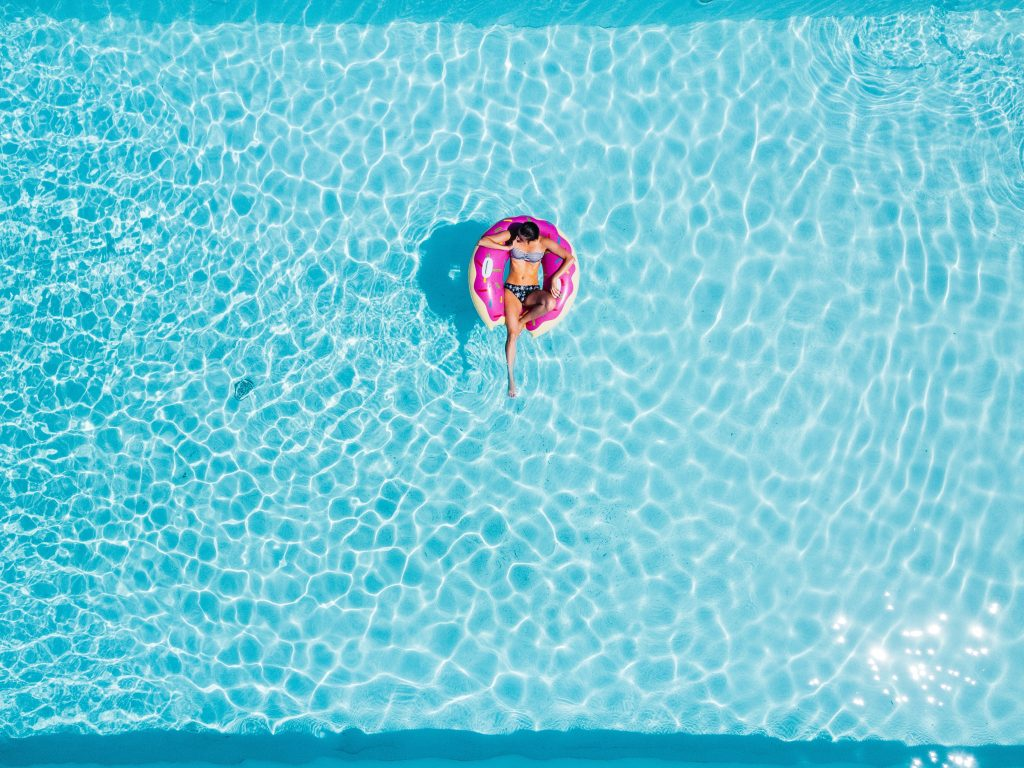 pool_woman_water_floatie_relax_holiday