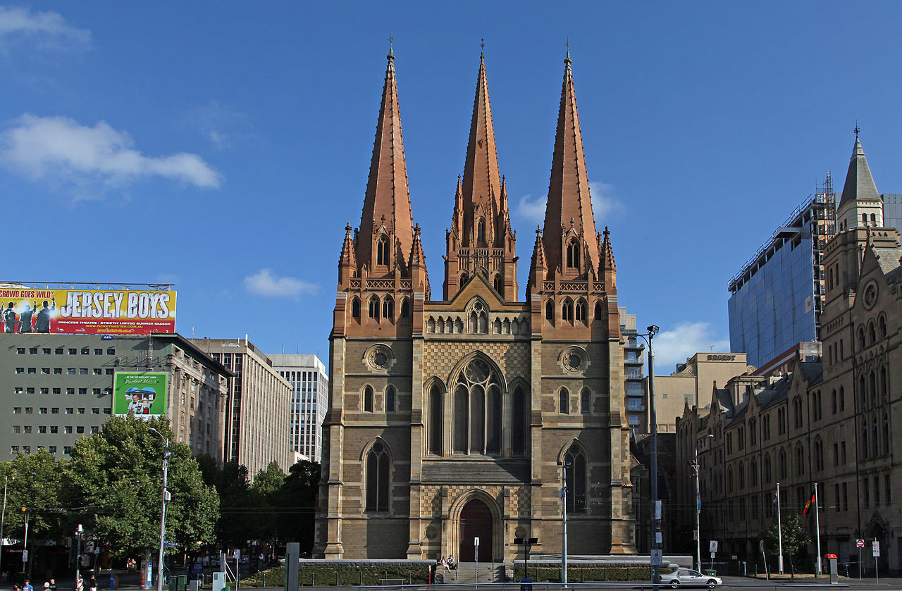 St Pauls Cathedral, Melbourne