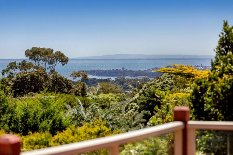 A view from a house in Mount Martha