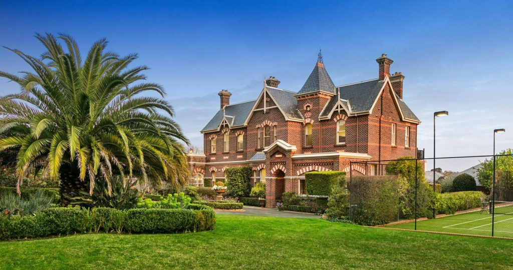 A red brick house in Hawthorn