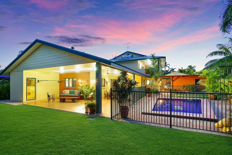 A Northern Territory home with a pool