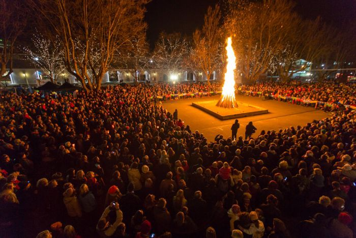 The Festival of Voices 'Big Sing Bonfire'