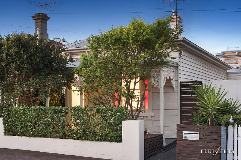 A weatherboard home in the Kingsville suburb of Melbourne.