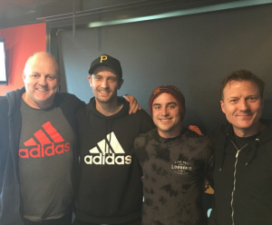 Adam Oxley and Ben Kennedy on Triple M's Rush Hour