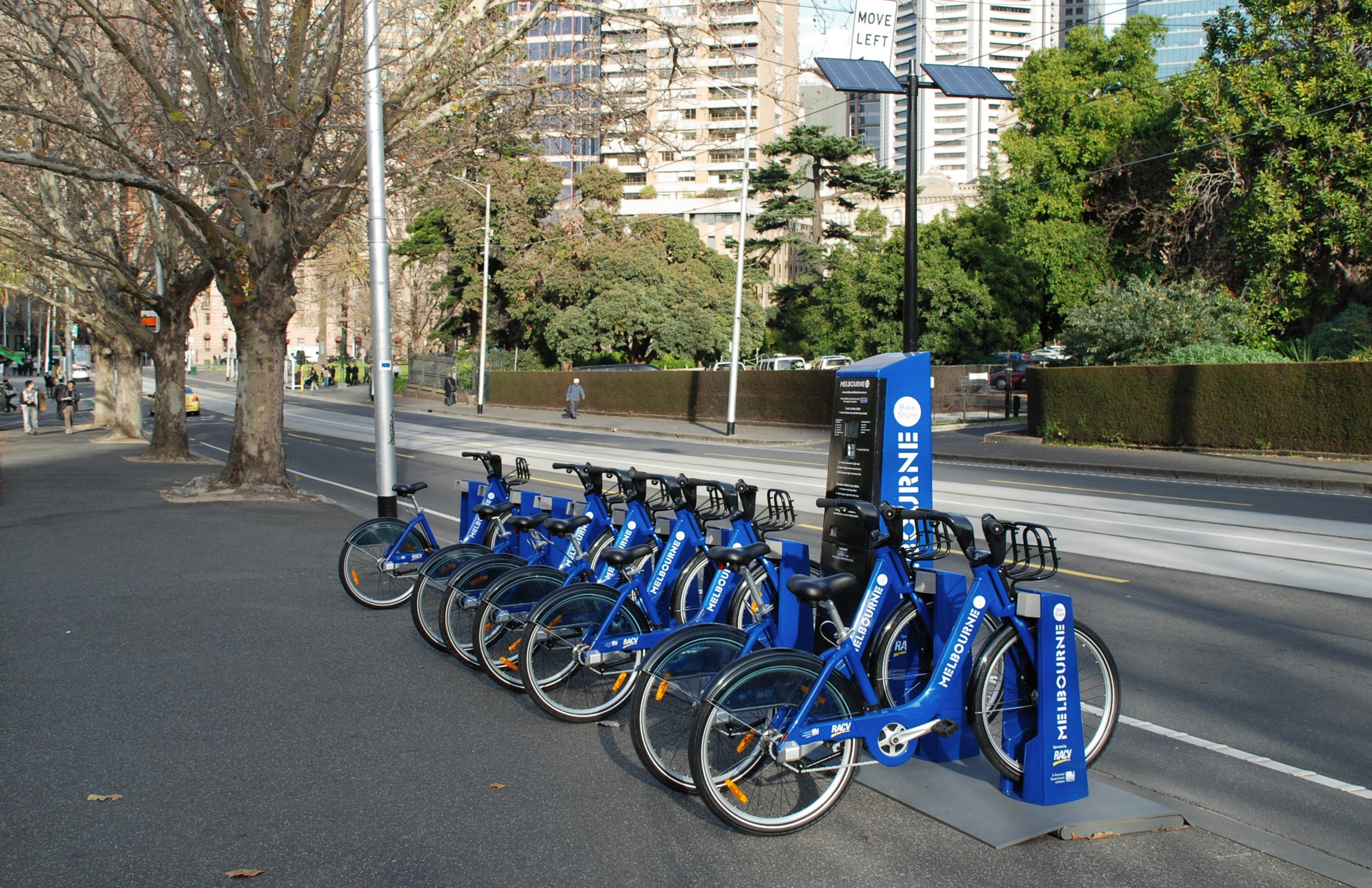 Bokes from Melbourne's Bike Share