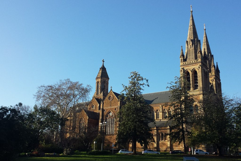 Free things to do in Adelaide include the St Peter's Cathedral, Adelaide