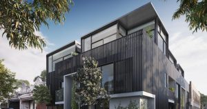 Prestige boutique townhouses – 28 Farmer Street, Richmond