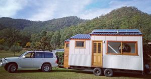 Goodwood builder puts skills into making a tiny house
