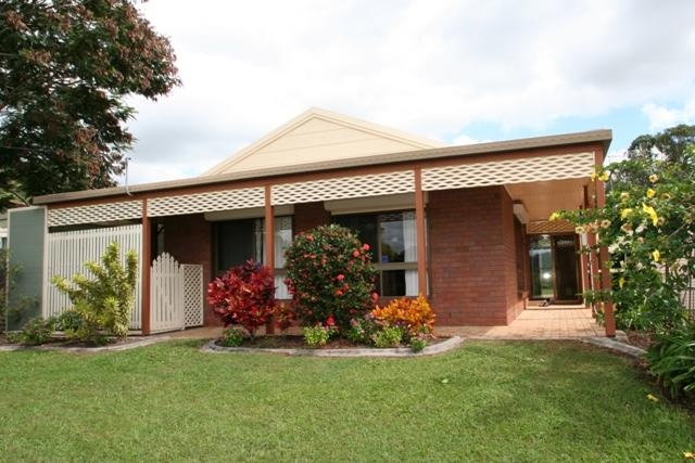 One of the sunshine coast homes on sale for a bargain with a veranda and front yard.