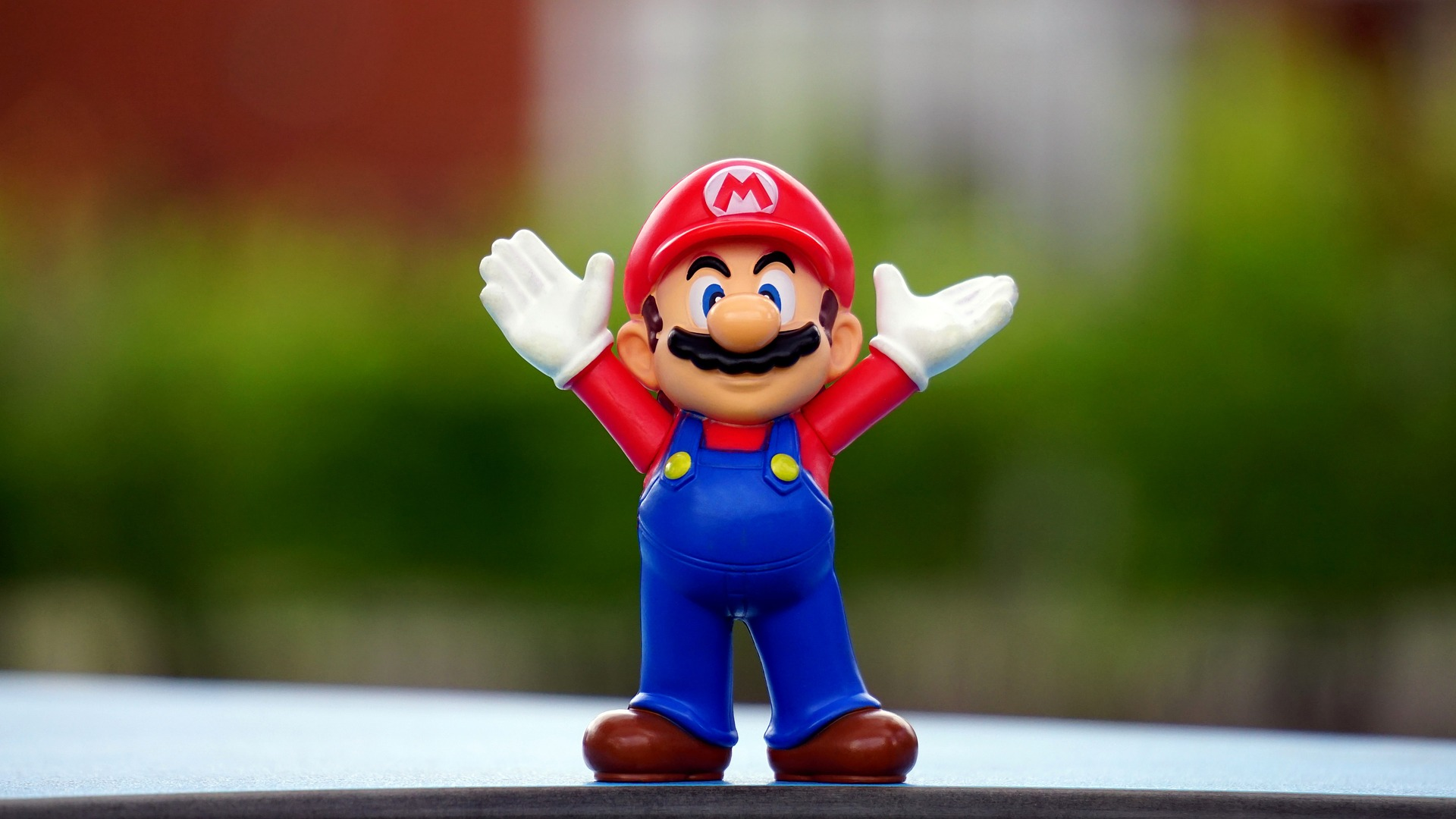 90s Mario figurine for cultural inspiration