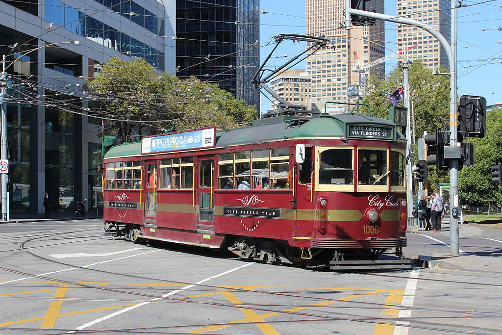 The Melbourne City Circle Tram