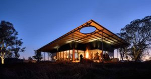 Architectural design inspired by an iconic Aussie hat