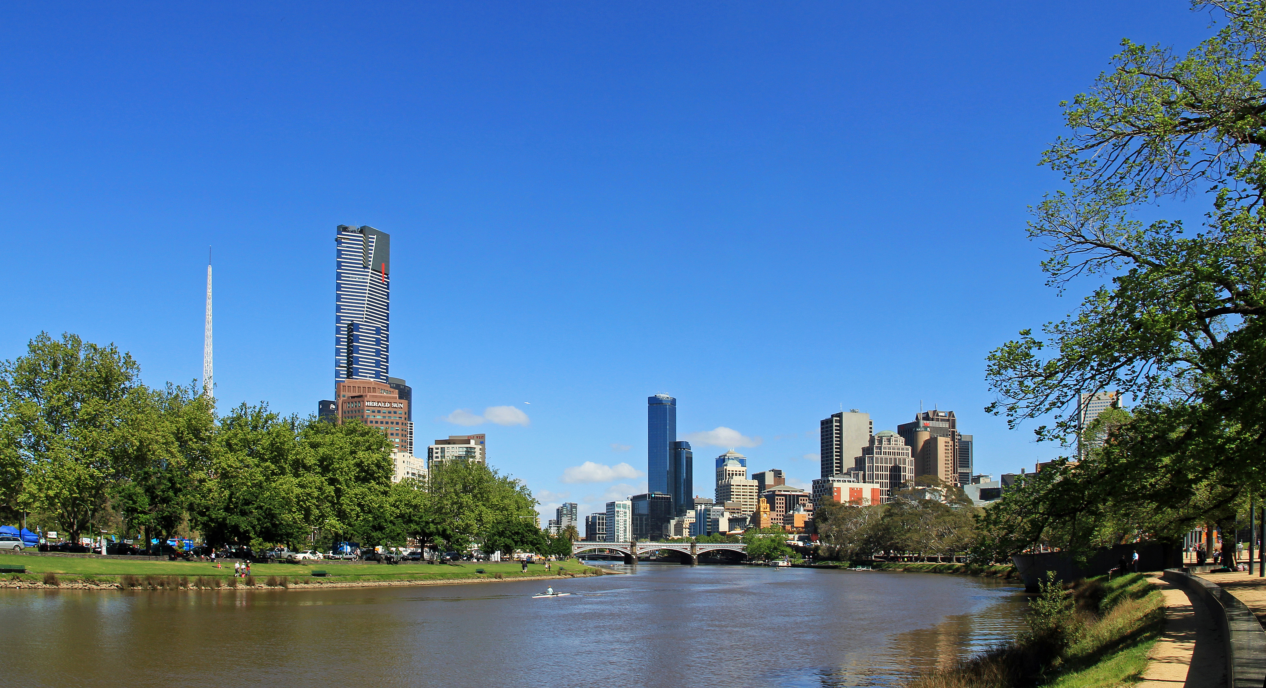 The Yarra River Melbourne
