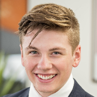Harrison Evans Business Manager to Lachlan Turner real estate agent