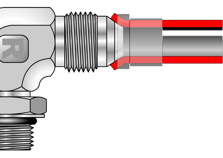 Metal Seal Hydraulic Connector JIC and JSEAL