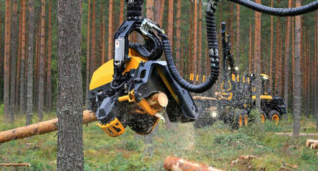 Hydraulic Applications for Felling Heads