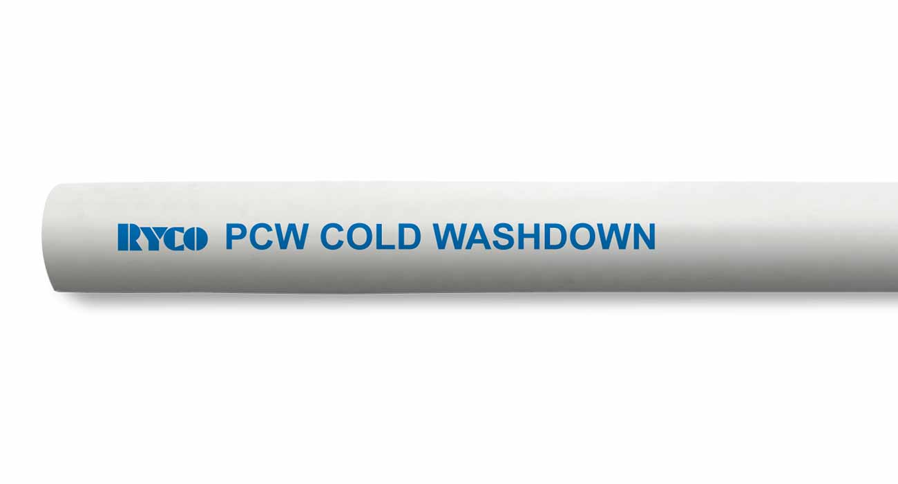 PCW Air Water Cold Washdown Industrial Hose