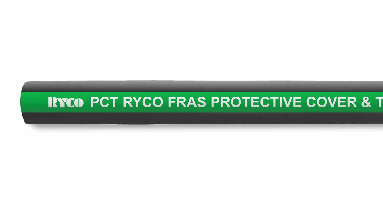 PCT Air Water FRAS Protective Cover Industrial Hose