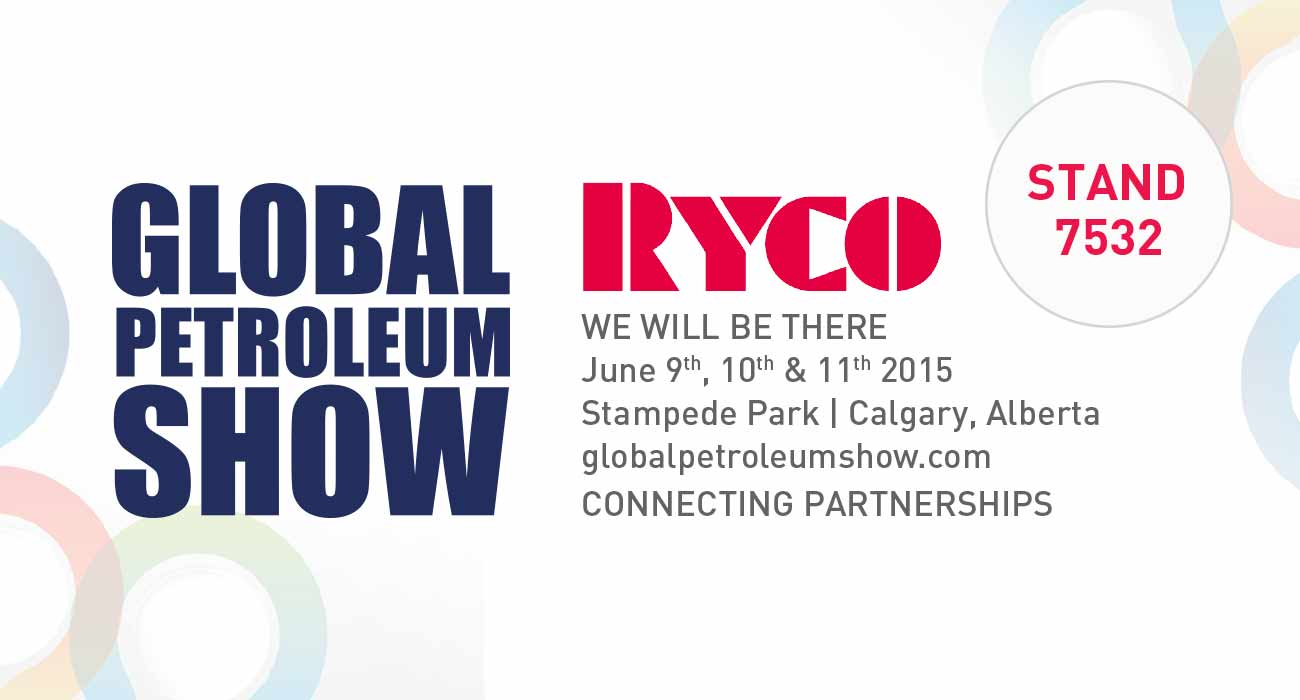 RYCO Hydraulics to exhibit at 2015 Global Petroleum Show June 9 - 11