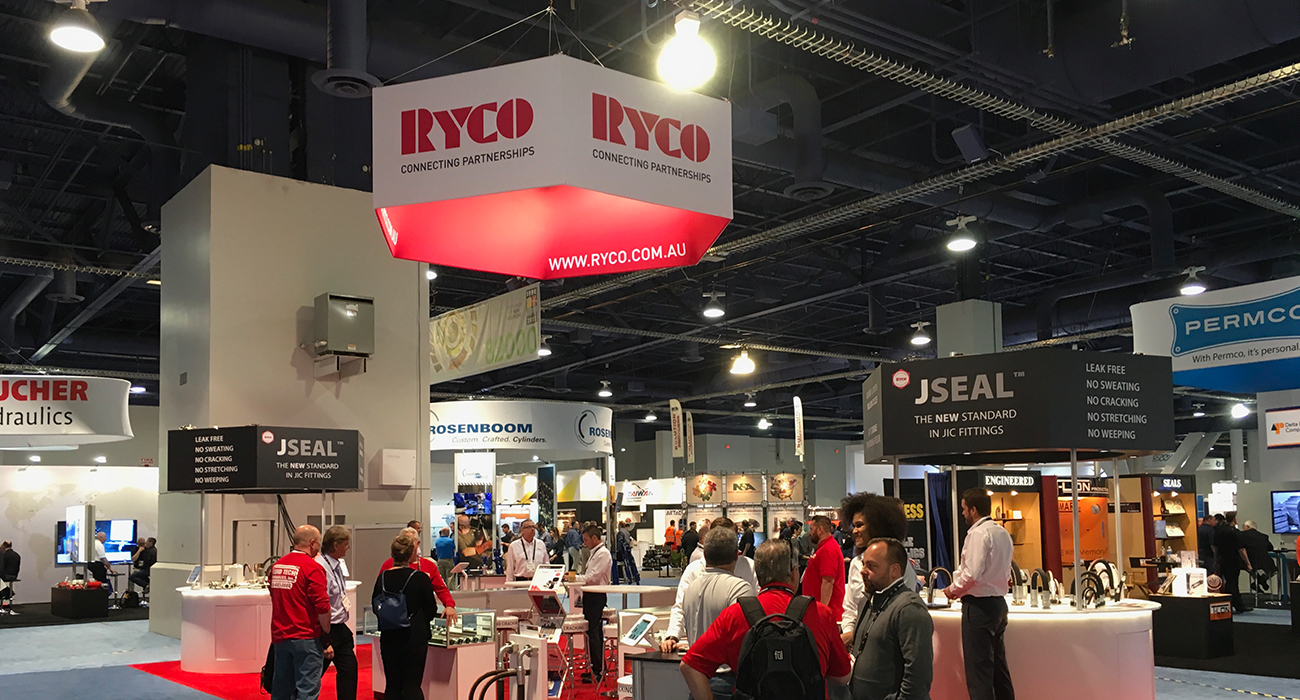 RYCO Hydraulics is at Conexpo Las Vegas