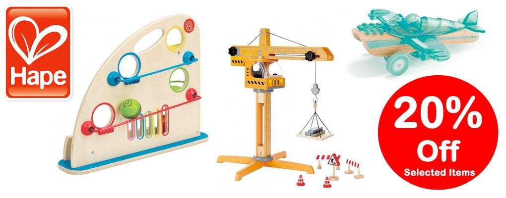 Hape 20% Off Selected Items image