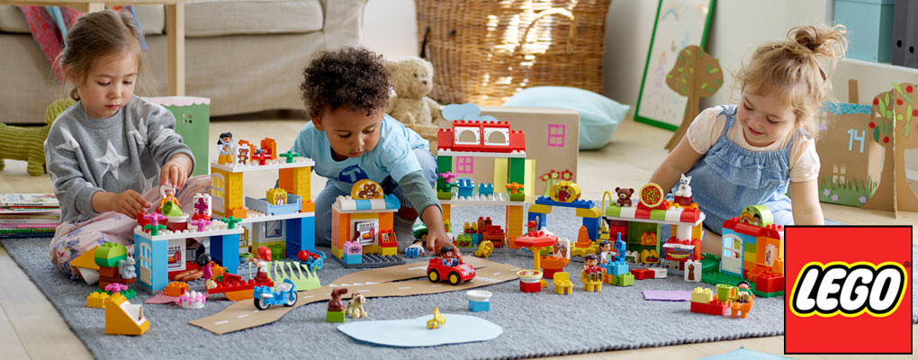 LEGO® products that help build your child's creativity one block at a time image